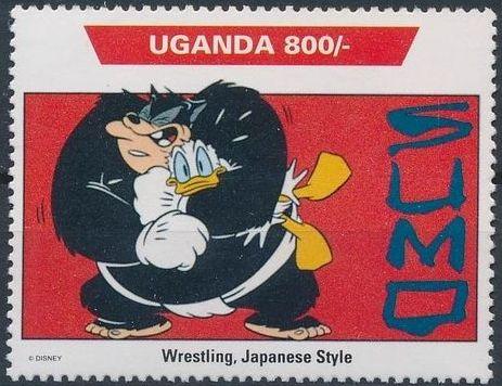 Uganda 1992 Walt Disney Characters on World Tour f.jpg