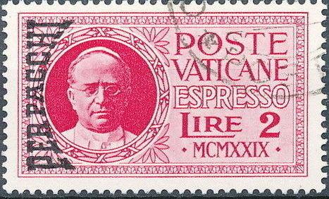 Vatican City 1931 Parcel Post Stamps n.jpg