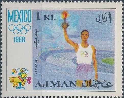Ajman 1968 Olympic Games - Mexico