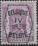 Belgium 1938 Coat of Arms - Precancel (4th Group) b.jpg