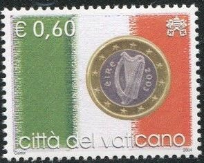 Vatican City 2004 Flags and One-Euro Coins h.jpg