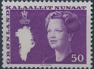 Greenland 1981 Queen Margrethe II