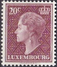 Luxembourg 1958 Grand Duchess Charlotte (5th Group)