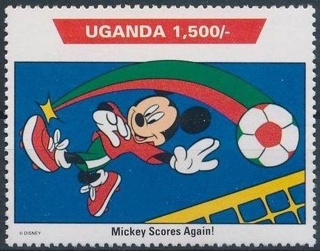 Uganda 1992 Walt Disney Characters on World Tour h.jpg