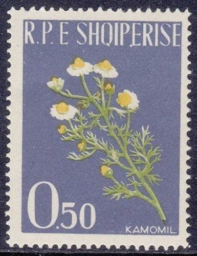 Albania 1962 Medicinal Plants