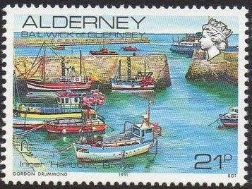 Alderney 1991 Island Scenes