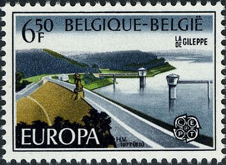 Belgium 1977 Europa