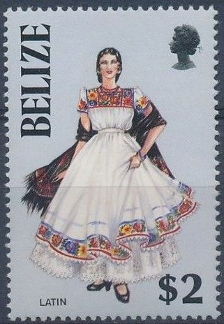 Belize 1986 Women in Folk Costumes h.jpg