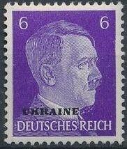 German Occupation-Ukraine 1941 Stamps of German Reich Overprinted in Black e.jpg