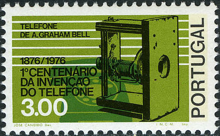 Portugal 1976 100th Anniversary of the Telephone