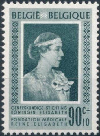 Belgium 1951 Queen Elisabeth Medical Foundation