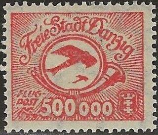 Danzig 1923 Air Post Stamps b.jpg