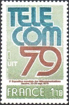 France 1979 3rd World Telecommunications Exhibition