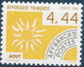 France 1986 Months of the Year - Pre-cancelled (2nd Issue) c.jpg