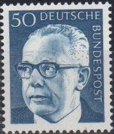 Germany, Federal Republic 1971 President Gustav Heinemann (4th Group) b.jpg