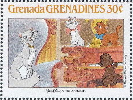 Grenada Grenadines 1988 The Disney Animal Stories in Postage Stamps 6b.jpg