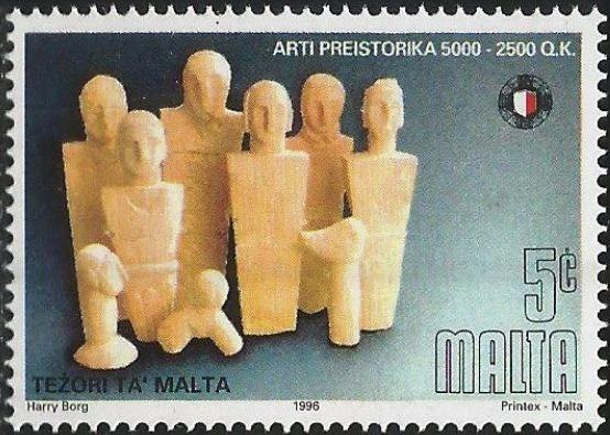 Malta 1996 Prehistoric Art