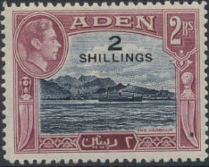 Aden 1951 King George VI Pictorials with New Values i.jpg
