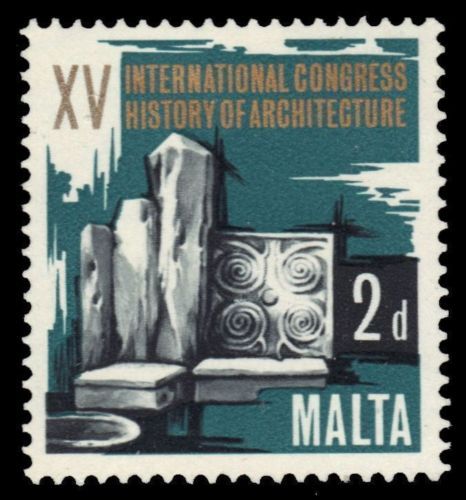 Malta 1967 15th Congress of the History of Architecture