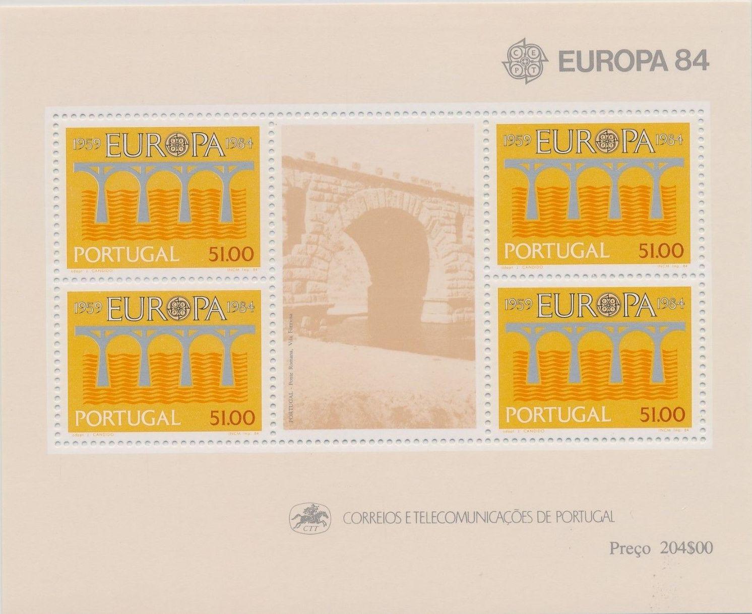 Portugal 1984 Europa