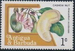 Antigua and Barbuda 1983 Fruits and Flowers