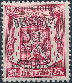Belgium 1938 Coat of Arms - Precancel (11th Group) c.jpg