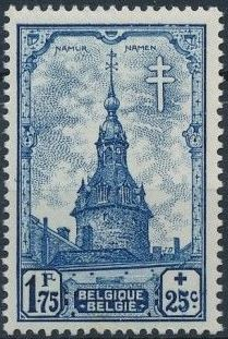 Belgium 1939 Anti Tuberculosis - Belfries f.jpg