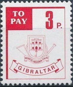 Gibraltar 1984 Postage Due Stamps b.jpg