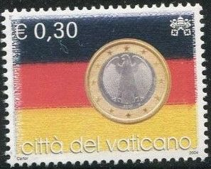 Vatican City 2004 Flags and One-Euro Coins e.jpg