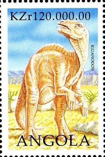 Angola 1998 Prehistoric Animals (2nd Group) i.jpg