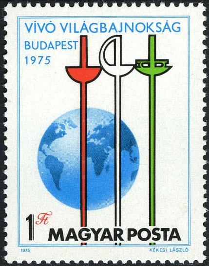 Hungary 1975 32nd World Fencing Championships, Budapest
