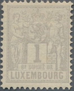 Luxembourg 1882 Industry and Commerce
