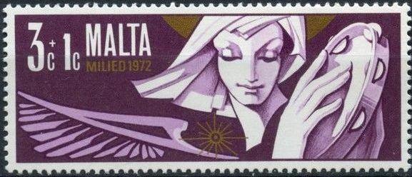 Malta 1972 Christmas