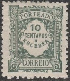 Portugal 1922 Postage Due Stamps (Unicolor) c.jpg