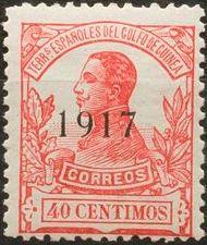 Spanish Guinea 1917 Alfonso XIII Overprinted i.jpg