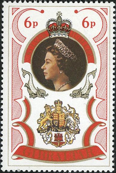 Gibraltar 1977 25th Anniversary of Queen Elizabeth Regency