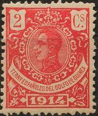 Spanish Guinea 1914 Alfonso XIII b.jpg