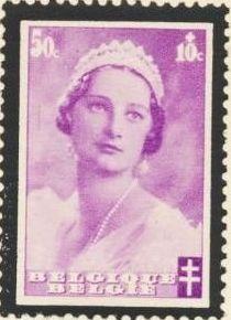 Belgium 1935 Queen Astrid Memorial Issue d.jpg