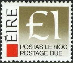 Ireland 1988 Postage Due Stamps k.jpg