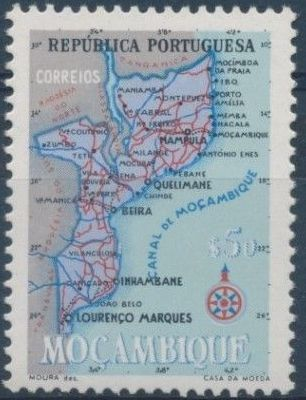 Mozambique 1954 Map of Mozambique c.jpg
