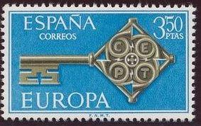 Spain 1968 Europa