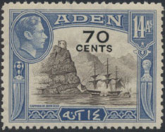 Aden 1951 King George VI Pictorials with New Values f.jpg
