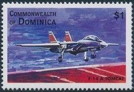 Dominica 1998 Modern Aircrafts k.jpg
