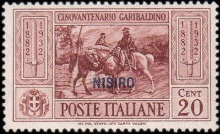 Italy (Aegean Islands)-Nisiro 1932 50th Anniversary of the Death of Giuseppe Garibaldi b.jpg