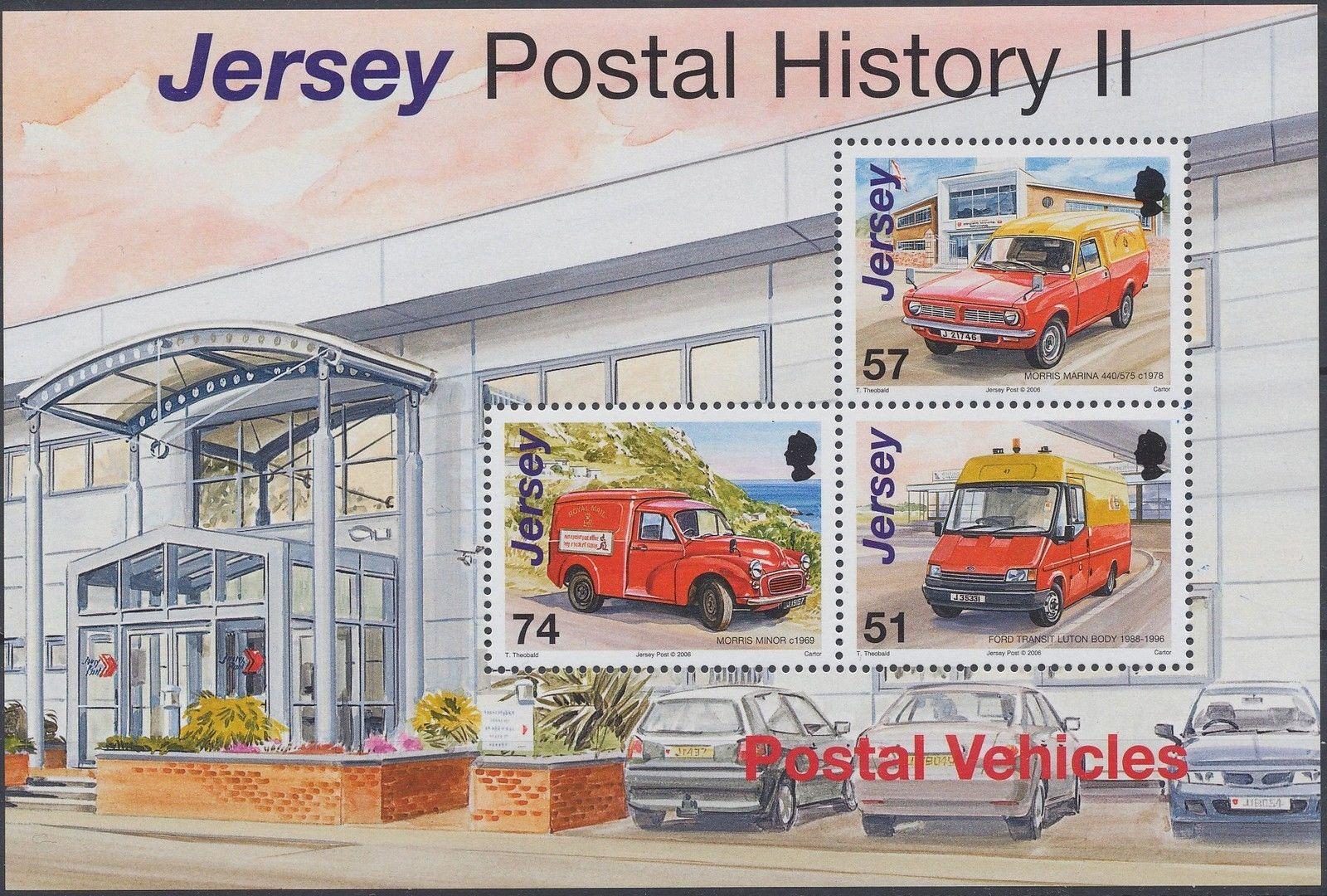 Jersey 2006 Postal History II - Postal Vehicles