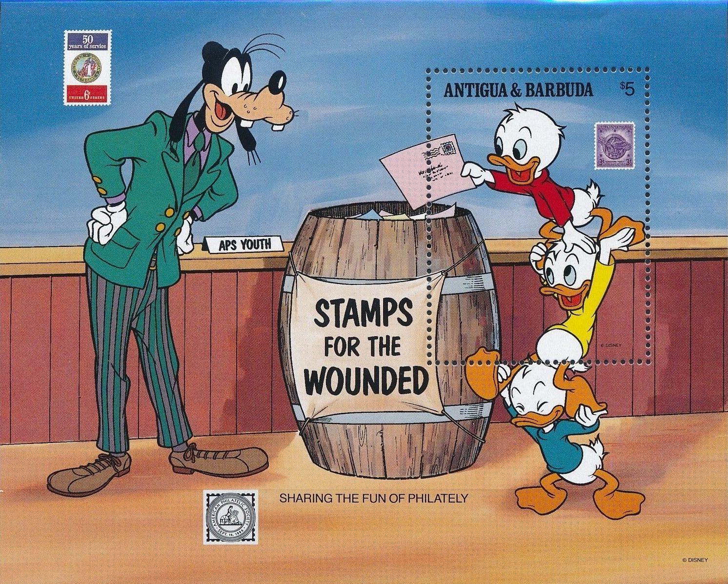 Antigua and Barbuda 1989 American Philately Society - Walt Disney Characters m.jpg