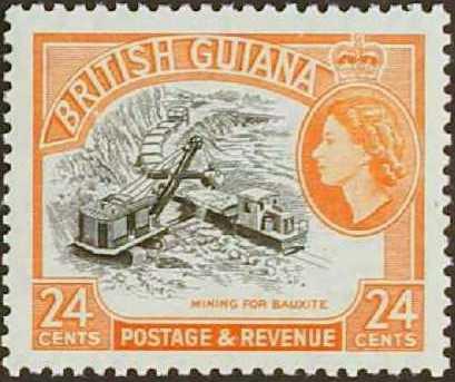 British Guiana 1954 Elizabeth II and Local Scenes i.jpg