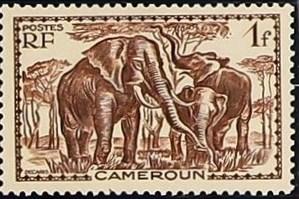 Cameroon 1940 Pictorials