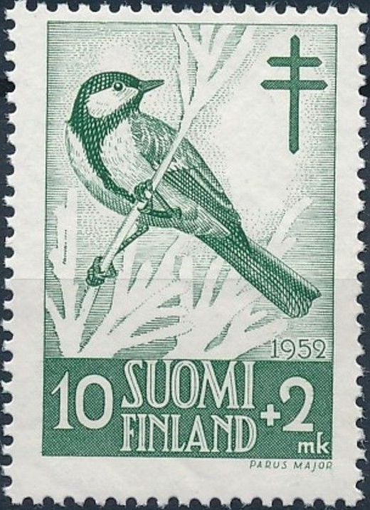 Finland 1952 Fight against Tuberculosis