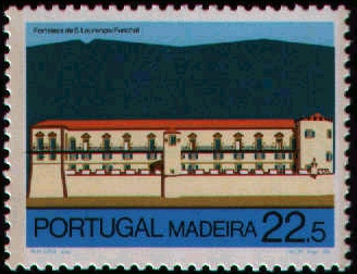 Madeira 1986 Forts in Funchal and Machico